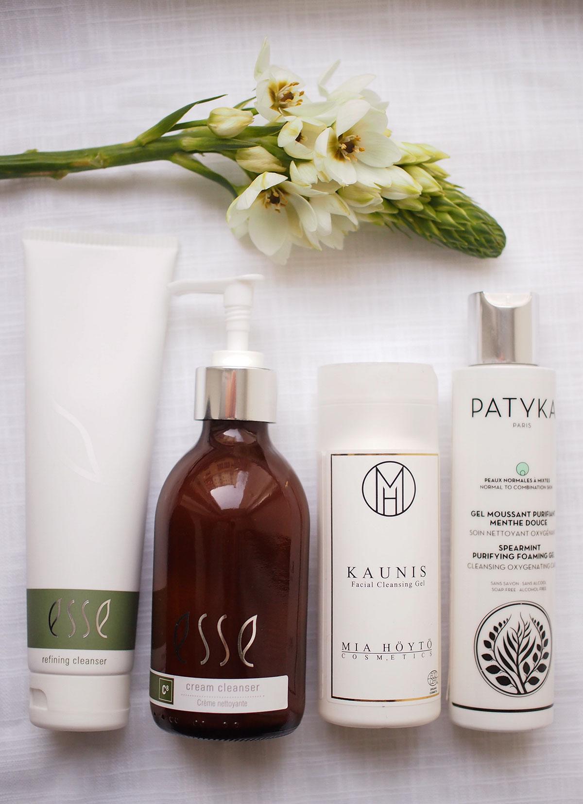 rasvainen iho puhdistus