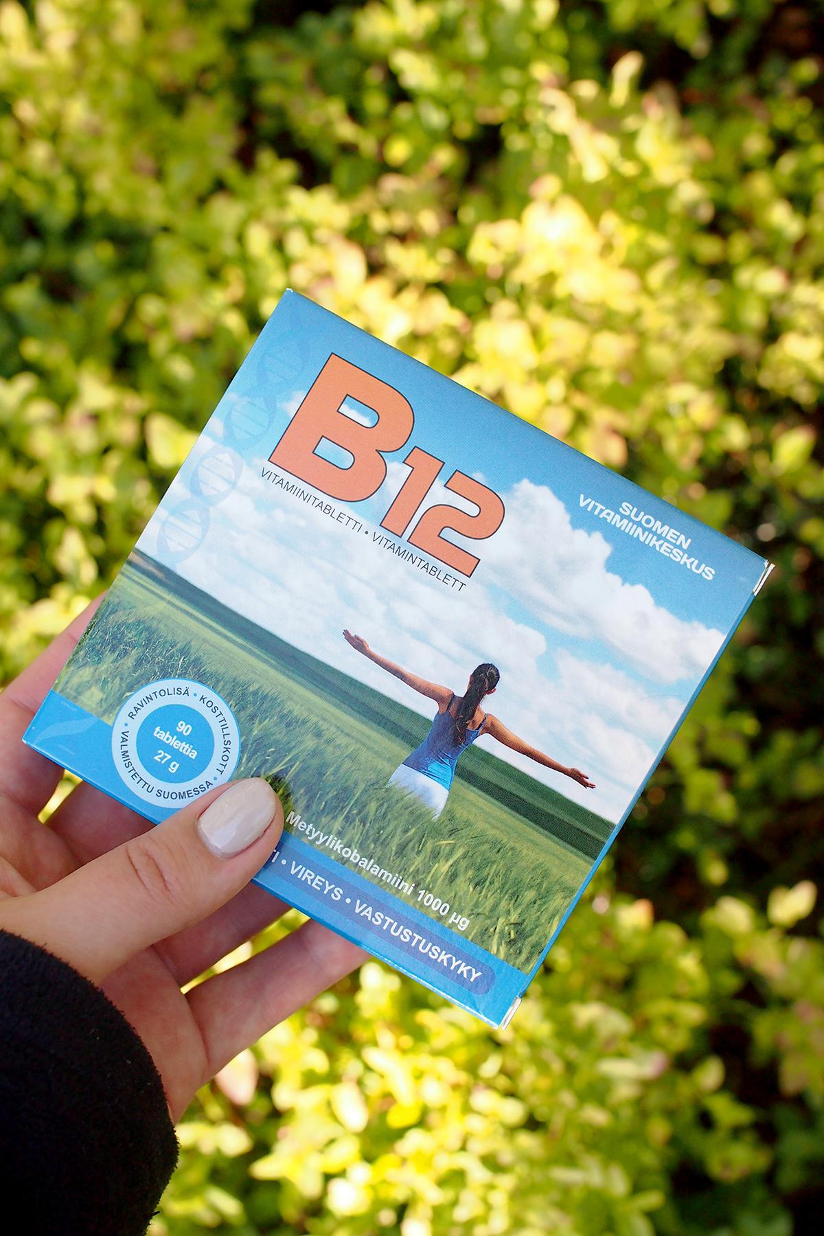 B12-vitamiinin puutos