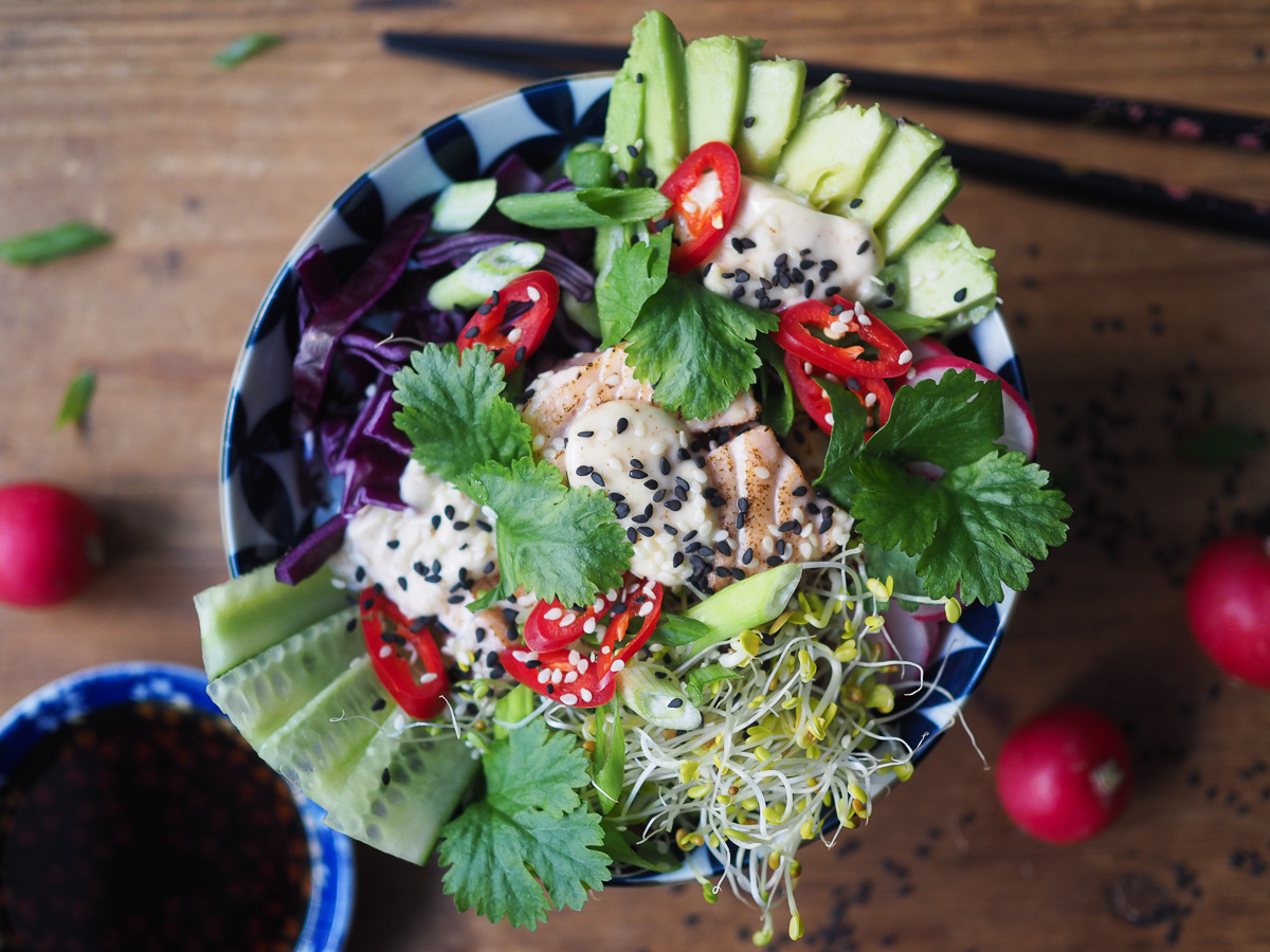 sushikulho eli sushi bowl