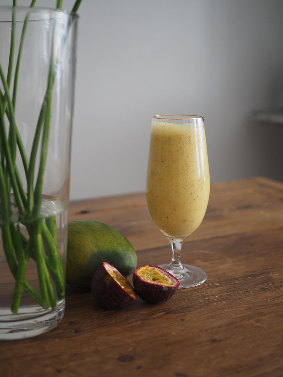 Tämä smoothie resepti maistuu aivan Solerolta.