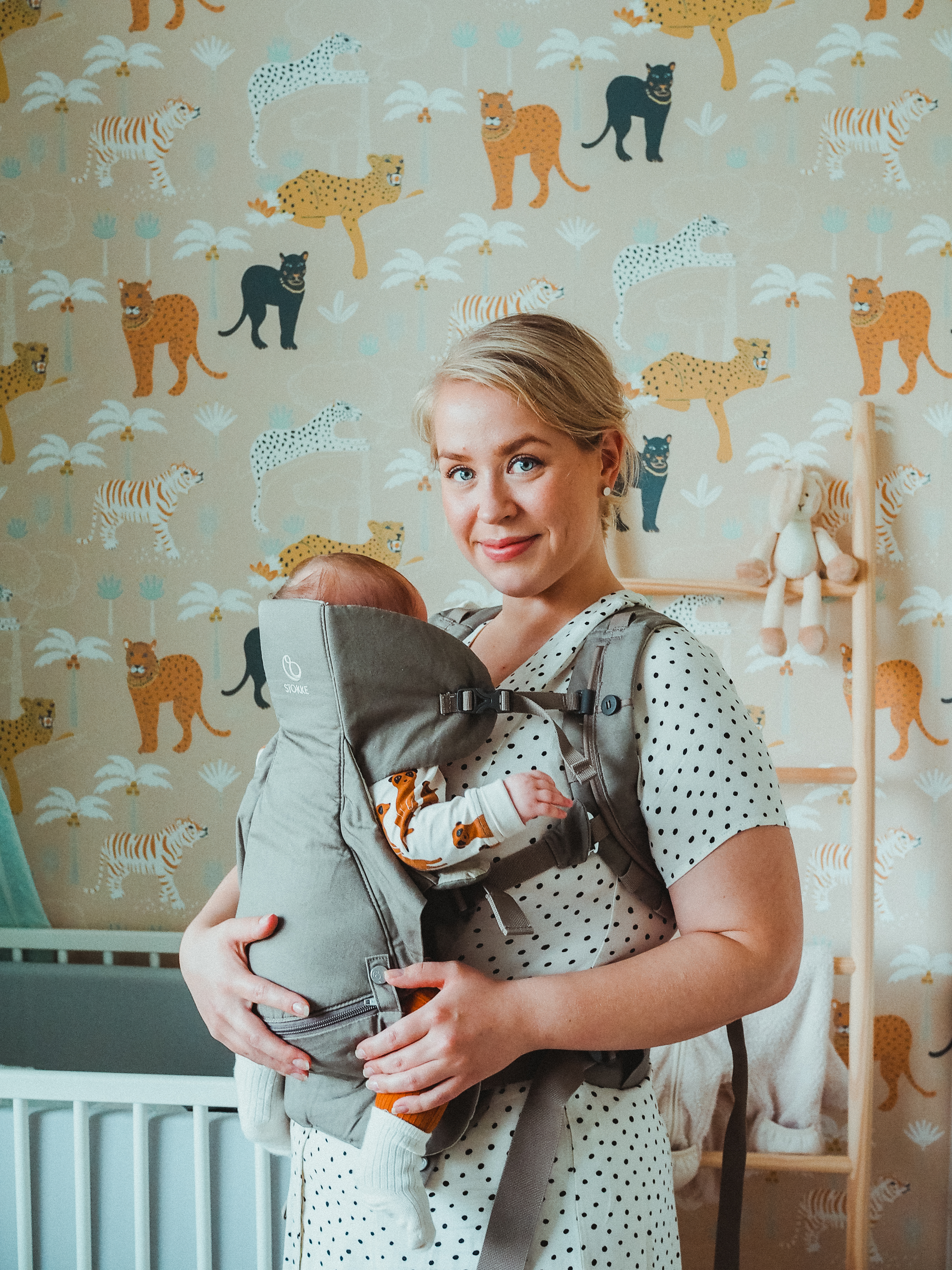 vauvan tarvikkeet: stokke my carrier kantoreppu