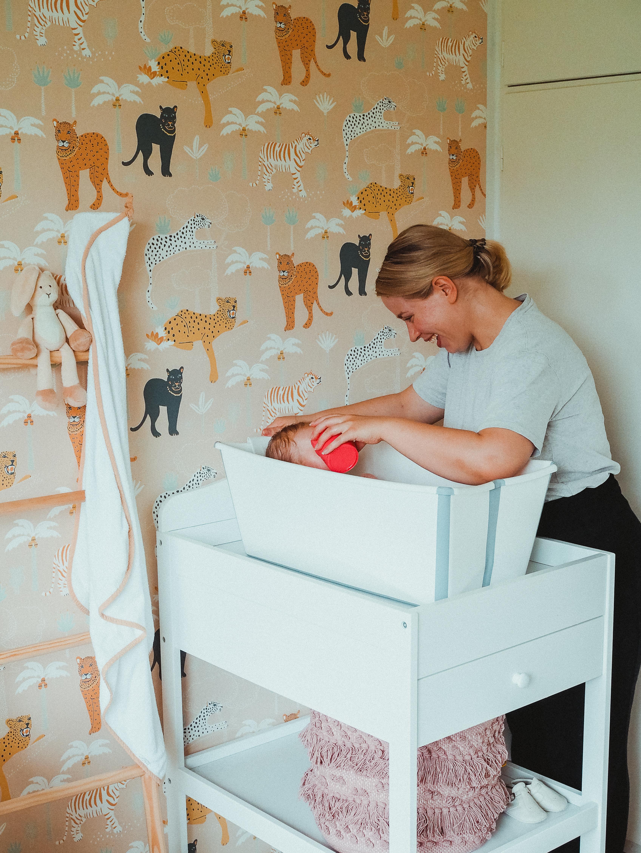vauvan tarvikkeet: stokken flexi bath